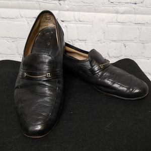 Bally mens soft leather loafers